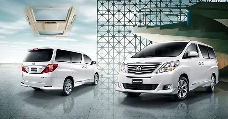 Toyota new ALPHARD 2013 ATPM