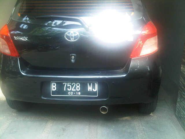 Toyota Yaris (outomatic) Th 2007 Pemakaian 2008