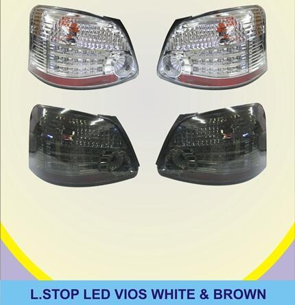 Lampu Led Stop Belakang Vios (Brown/White)