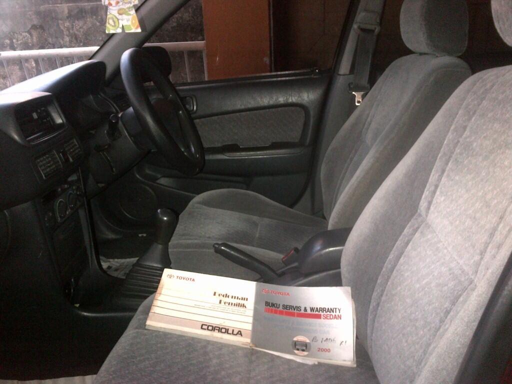 Toyota Corolla Xli th 2000 ciamik!!