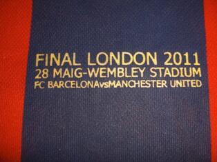 Jersey Barcelona home 2010-2011 (Final London 2011)