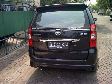 Toyota Avanza S At 1.5 Hitam 2010 Istimewa