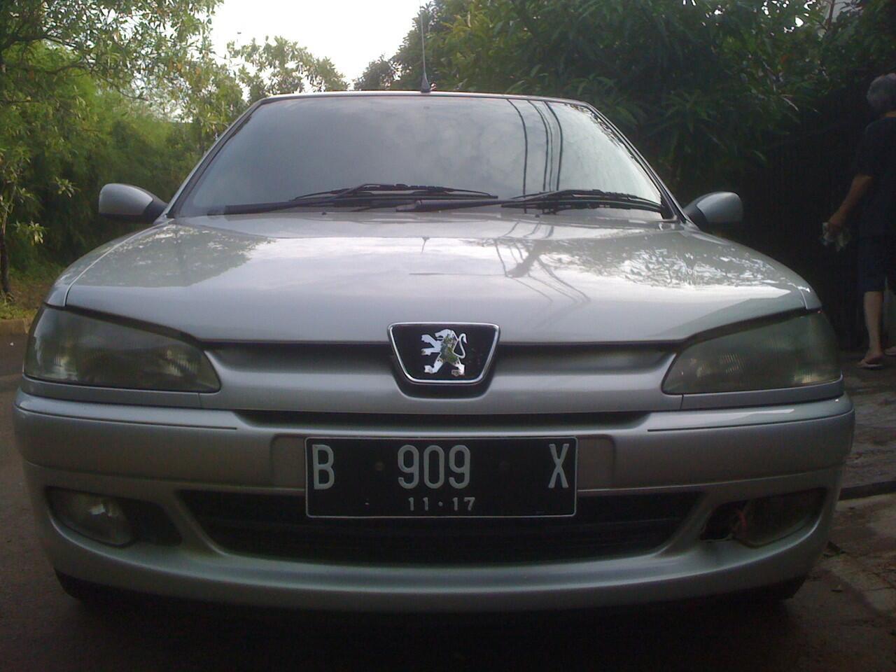 Peugeot 306 N5 Silver Metalik Matic 1997 MULUUSSS !!