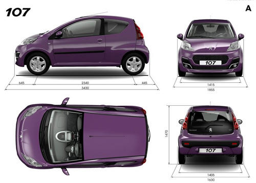 The New Peugeot 107, City Car terbaru dari Astra irit, ramah lingkungan dan nyaman