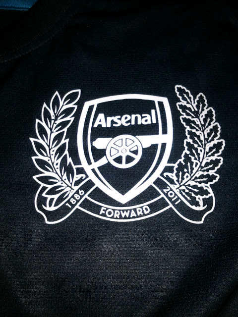 WTS Jersey Arsenal Away 125th Anniversary 11/12 Grade Ori