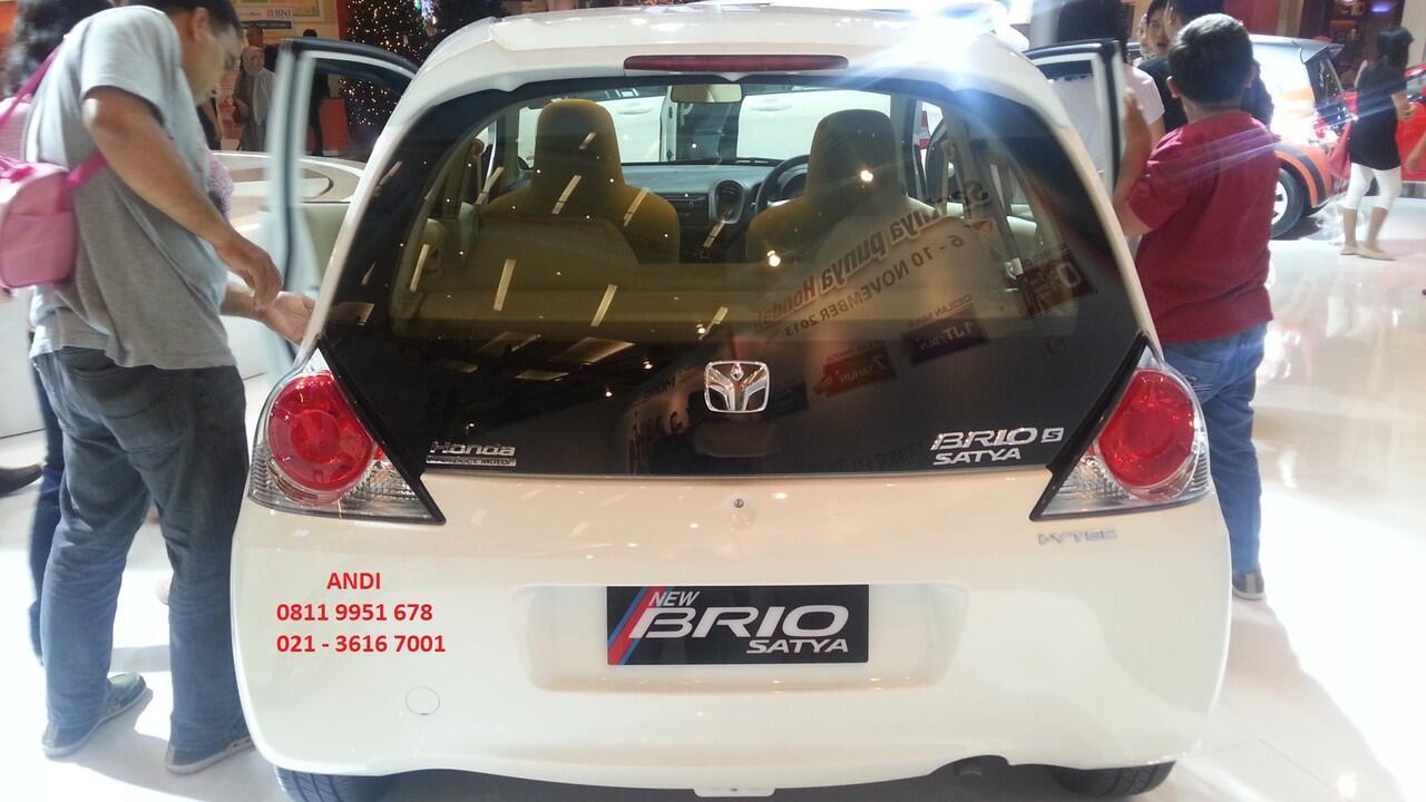 New Honda Brio Satya