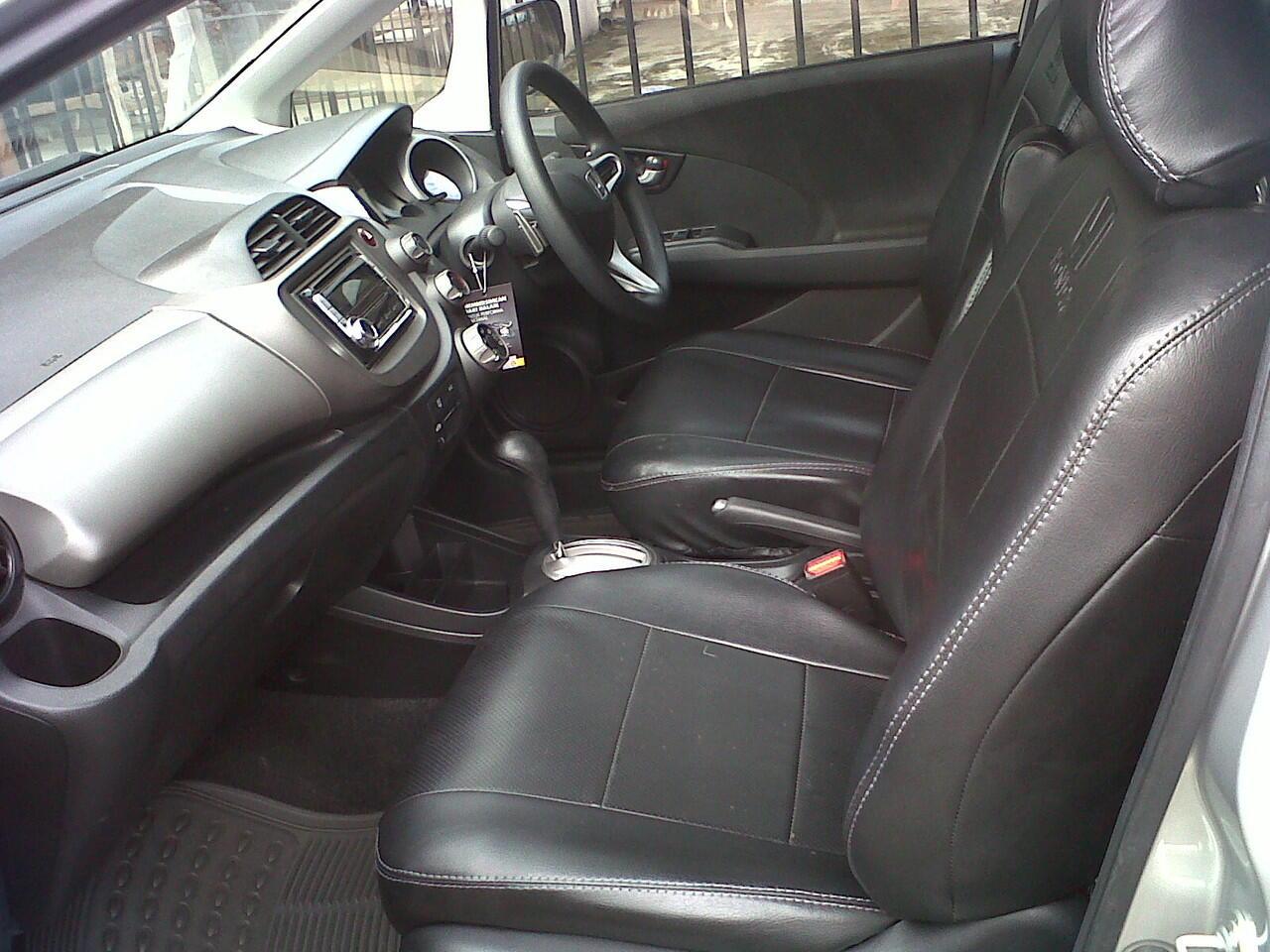 HONDA ALL NEW JAZZ RS AT 2010 SILVER MET
