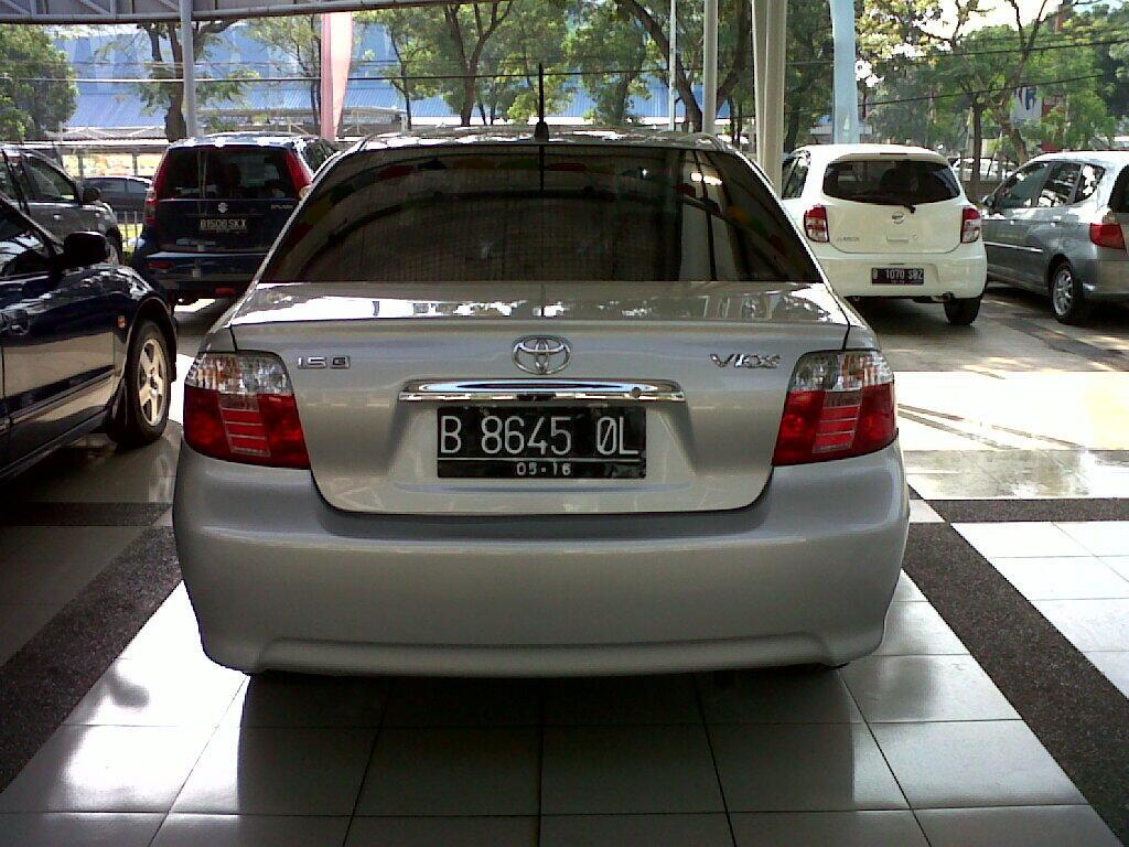 Toyota Vios G at tahun 2006 silver metalik harga spesial