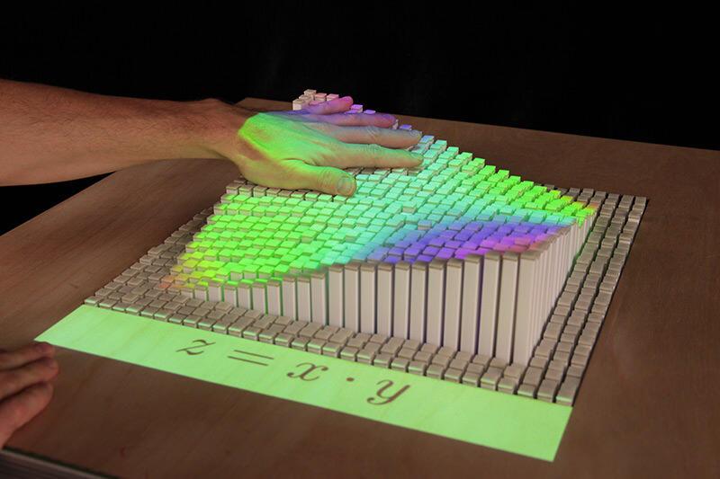 inForm, Teknologi Replikasi Objek dengan Tampilan 3D