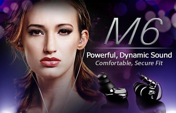 [MVPcomp] Earphone IEM Meelectronics M6 Ready Stock
