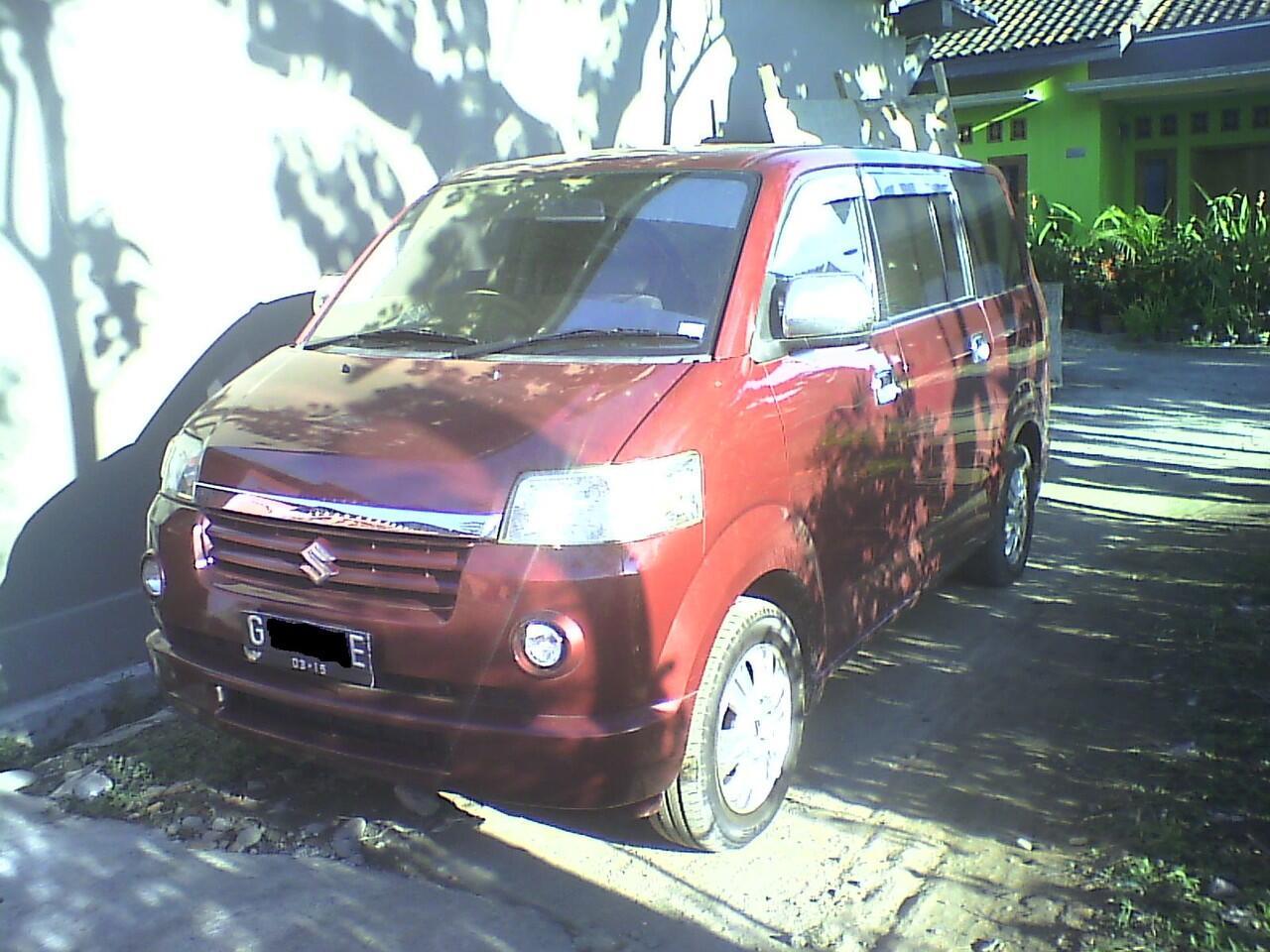 Suzuki APV tipe X tahun 2005 Plat G Terawat