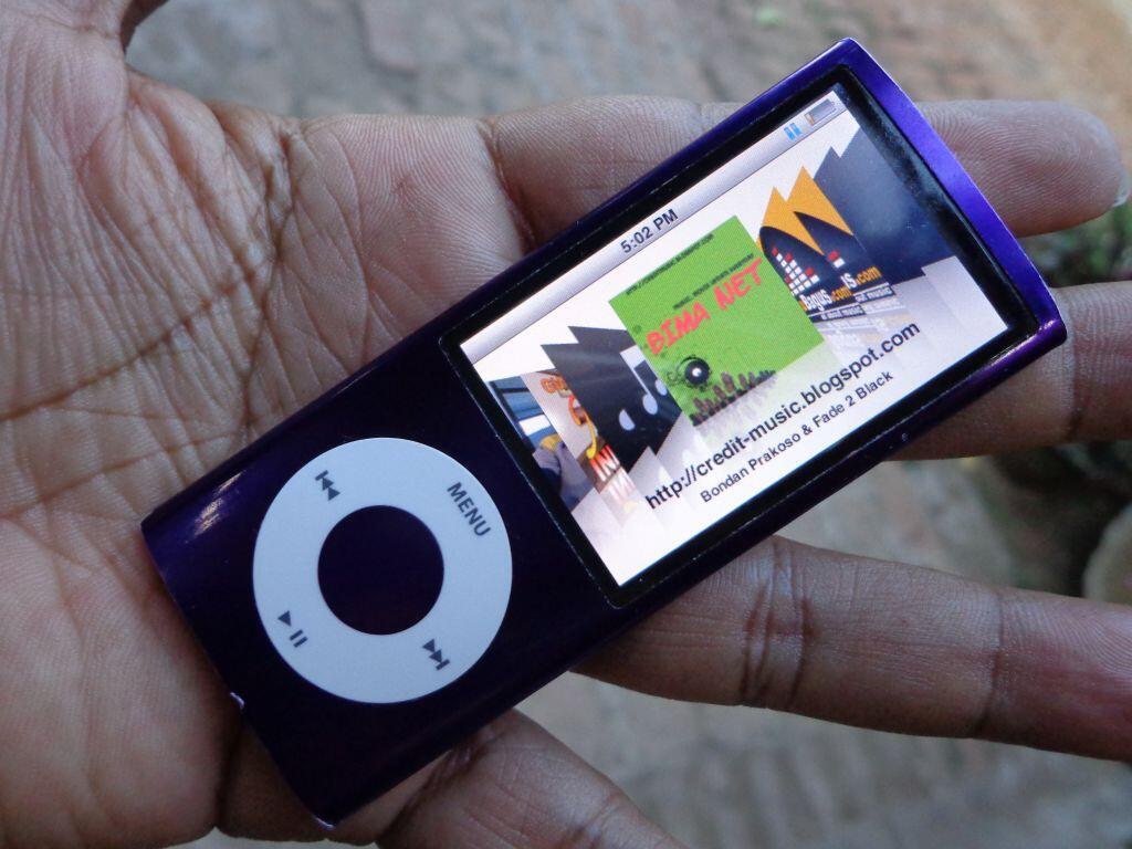 iPod nano 5th 8gb muraaaah hanya 450rb