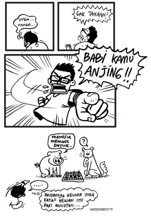 Komik MasdimBoy yang bikin ngakak guling2[masuuukk]
