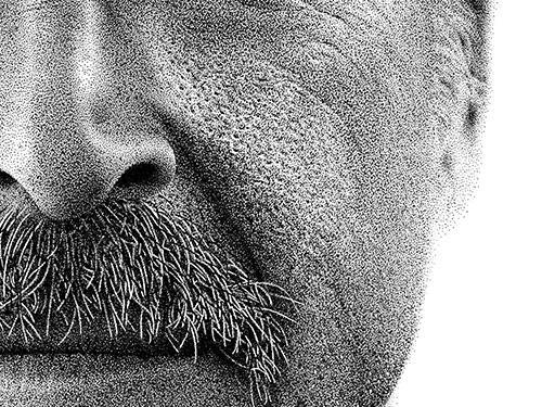 Seniman Edan (Part 2)!!! Karyanya Membutuhkan Jutaan Titik Dari Pena