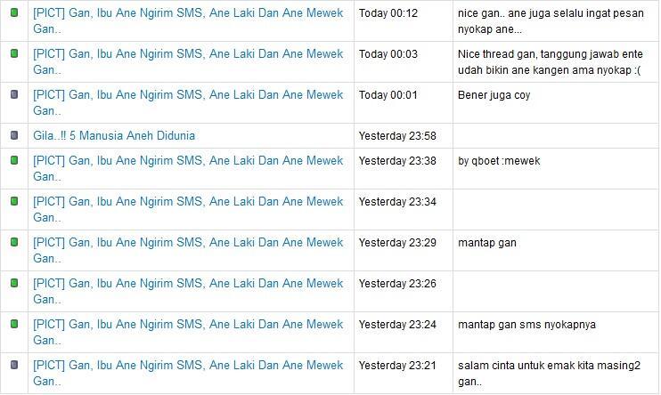 [PICT] Gan, Ibu Ane Ngirim SMS, Ane Laki Dan Ane Mewek Gan..
