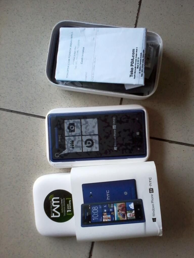 HTC 8x Blue (TAM) bisa TT BBQ5