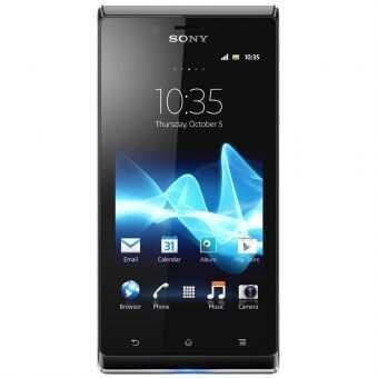 Sony Xperia J ST26i - 4 GB - Hitam