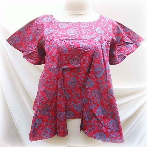 Terjual baju batik gaul  8209faffd7