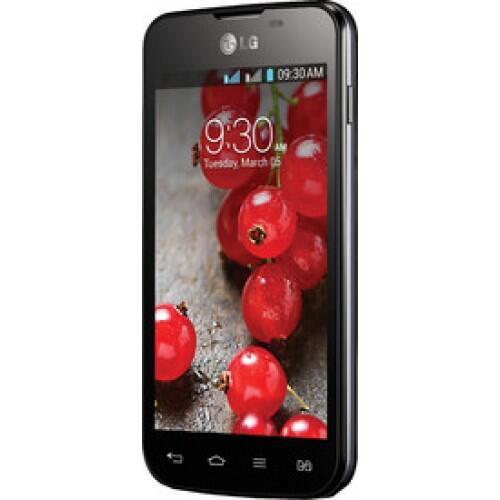 LG Optimus L5 II Dual E-455 - 4 GB - Black/White