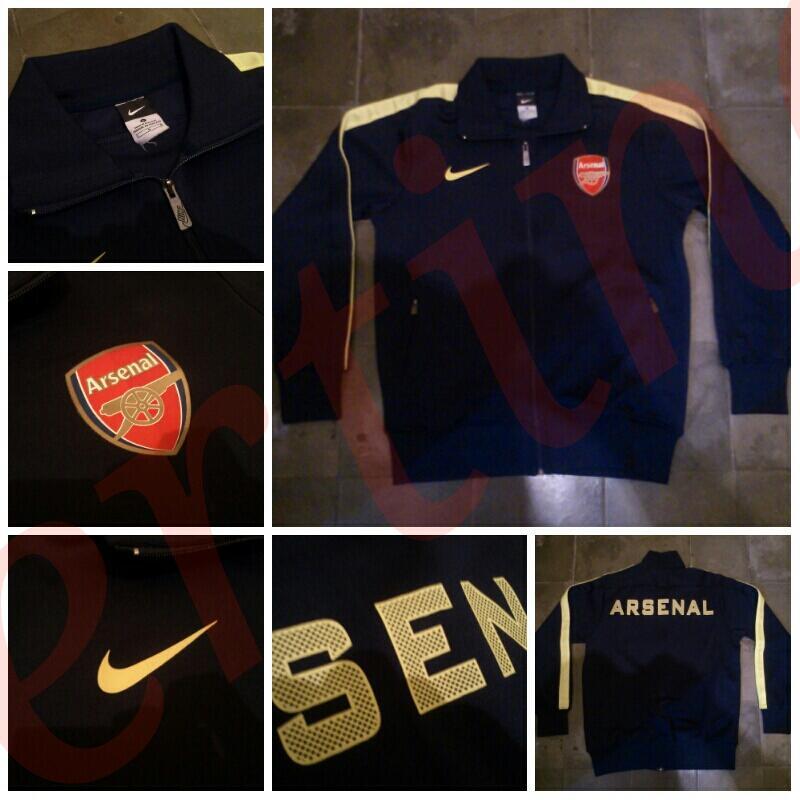 Jacket/Jaket Arsenal N98 UCL 12-13 Grade Ori