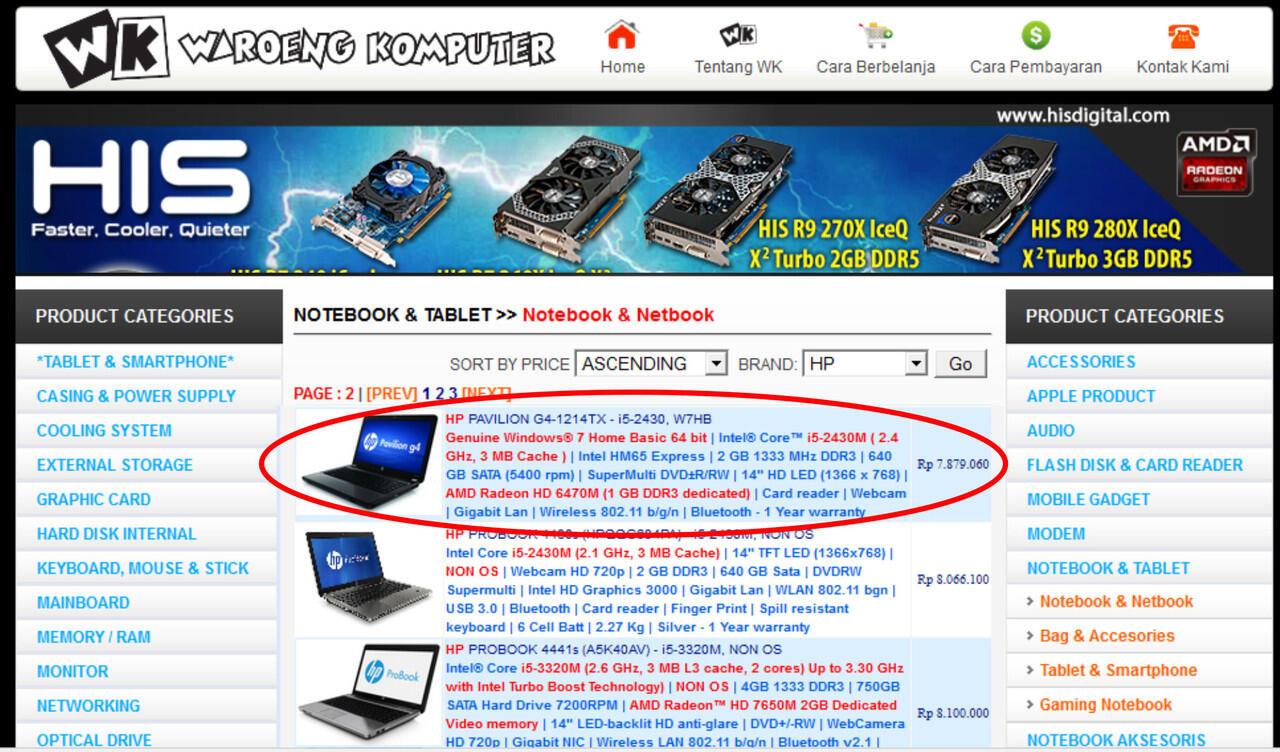 JUAL laptop hp like new g4-1214TX pavilion g4 jarang pakai