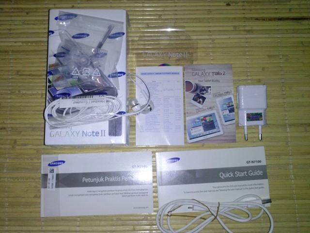 WTS Samsung Galaxy Note 2 GT-N7100 FULLSET Baru 2 bulan NO LECET LIKE NEW!!