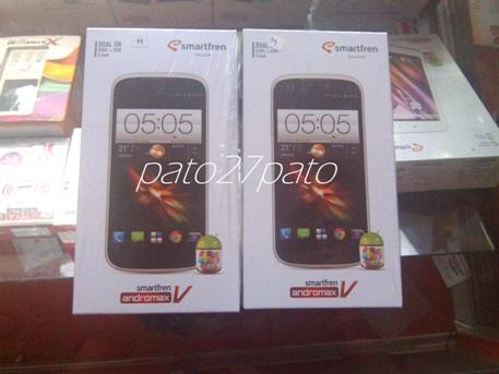 Obral Andromax-V 100% New BNIB segel Bonus Utuh COD Semarang