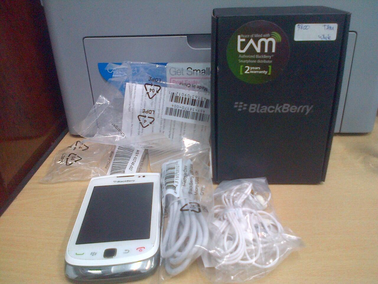 blackberry 9800 white