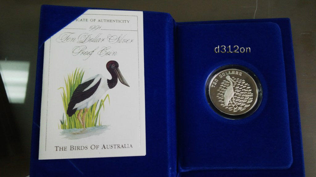 Royal Australian Mint - Birds of Australia Silver Proof Coin 99.99