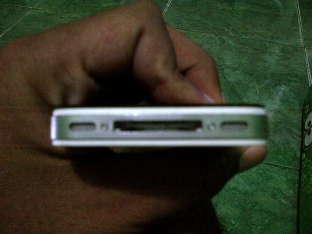 JOGJA JUAL IPHONE 4G CDMA 8GB white MULUS 99% MURAH