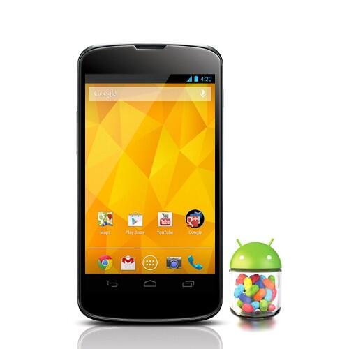 LG Nexus 4 E960 4.7 inch 16GB - Black