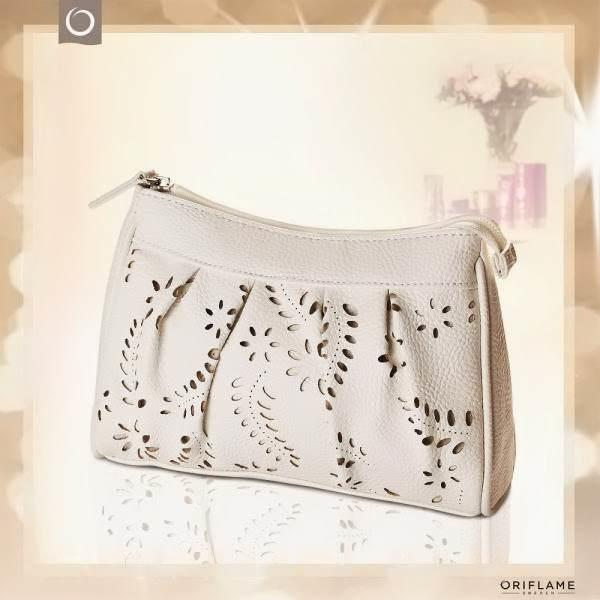Oriflame Sweden Turquoise Clutch Bags VR27 023 Source · Terjual Sale  Oriflame Snakeskin Watch nd Rose Of Dreams White Pouch 7eac7da909ae6