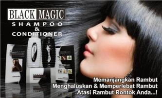 BMKS New Black magic Kemiri Shampoo, 2in1 Isi Shampoo + Conditioner