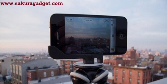 Tripod dan Flip - Kamera for Iphone 4-5 - HP lainnya