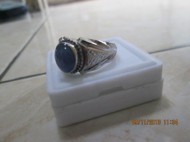 Jual Cincin Blue Safir Ring Kerennn