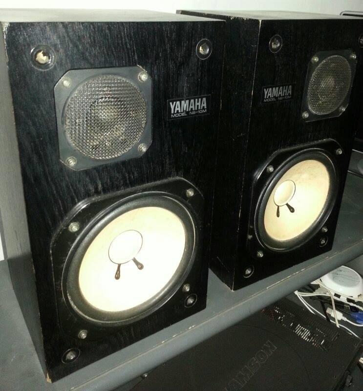 yamaha ns10. jual speaker monitor yamaha ns 10 dan poweramp samson servo 200 dijual 11jt aja gan, ns10 f