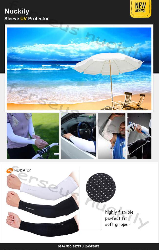 Arm Sleeve UV Protector   Pelindung lengan anti UV untuk olah raga outdoor [Imported]