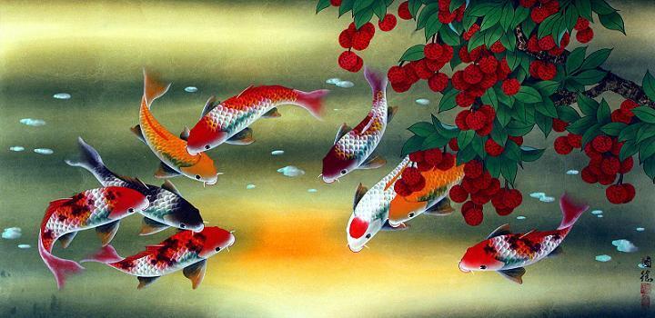 Ikan Koi Feng Shui