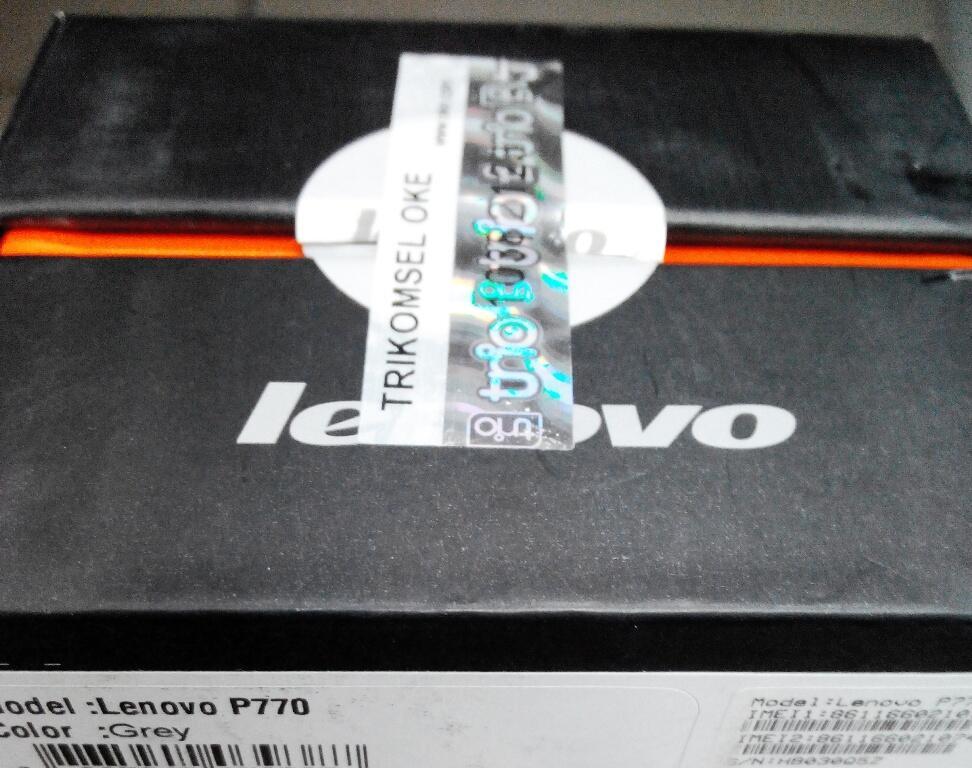 Lenovo P770 new BNIB stock Baru > Bandung COD