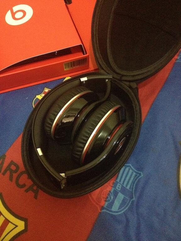 [Original] beats dr.dre Studio black | Mulus | 2nd | Murah !!!