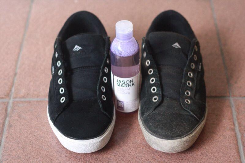 Terjual Jasa membersihkan sepatu/cuci sepatu with JASON