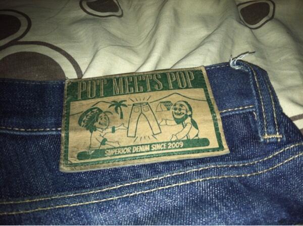 wts denim jeans pot meets pop skinny fit murah bandung