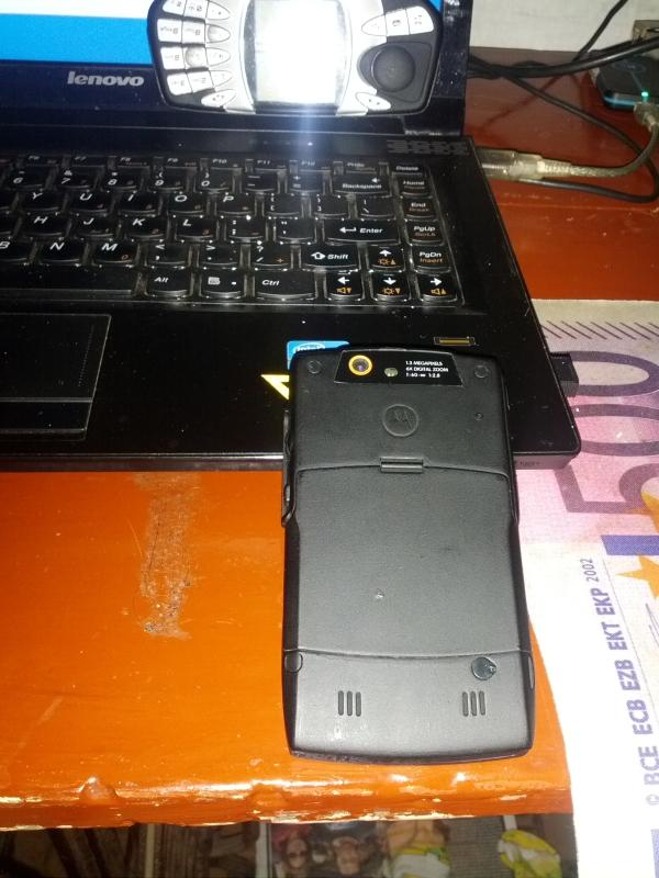 Hp MUMER Motorola Q8 Windows Phone