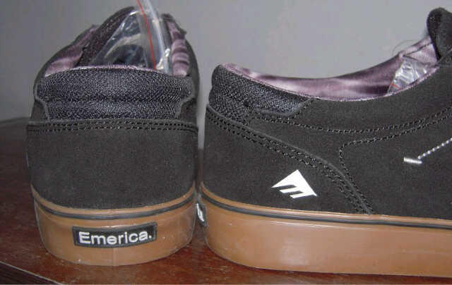 Emerica The Provost in Black Gum sz 42