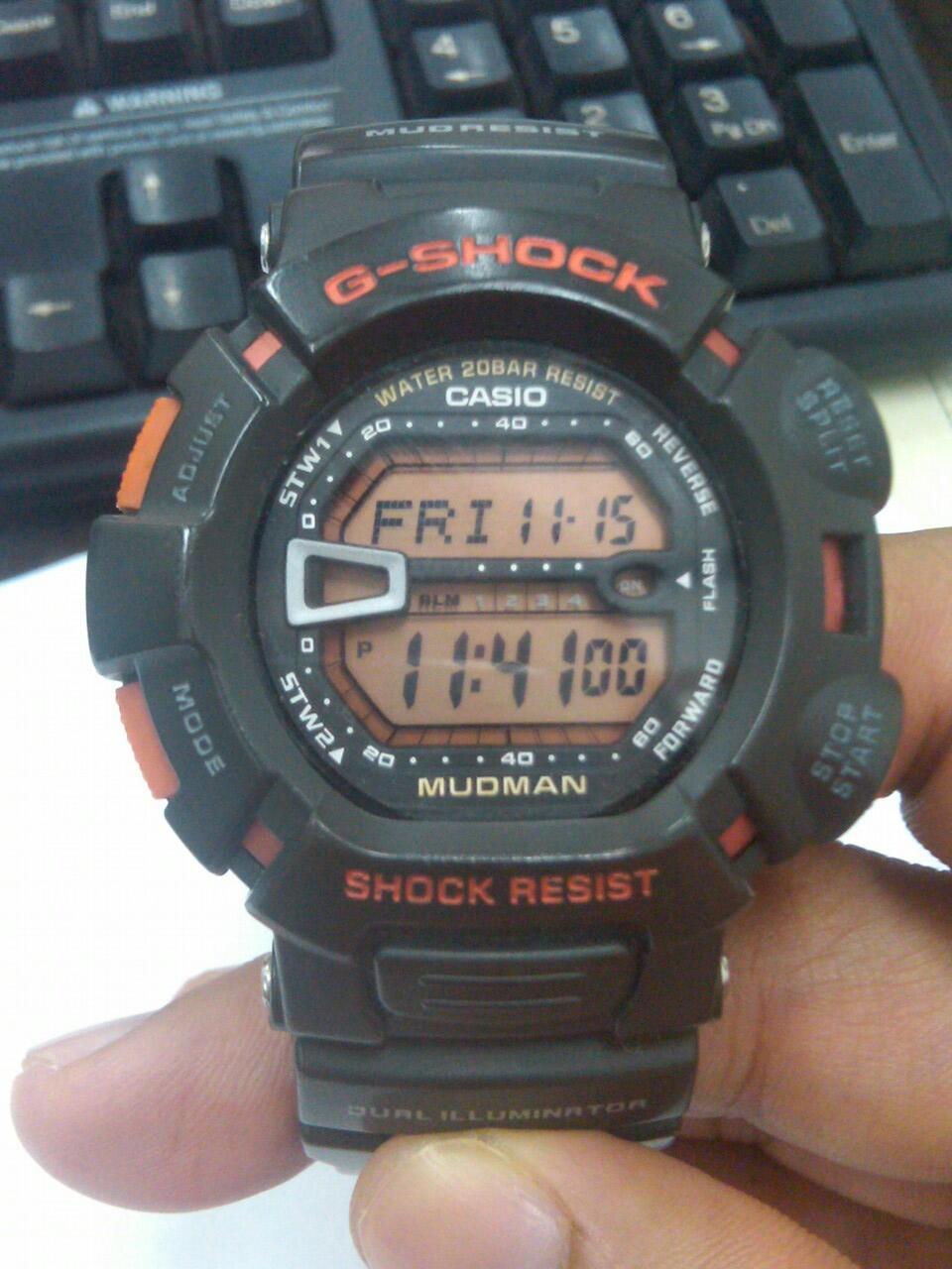 CASIO G SHOCK G9000MX8 N G9000MX4 2ND LIKE NEW