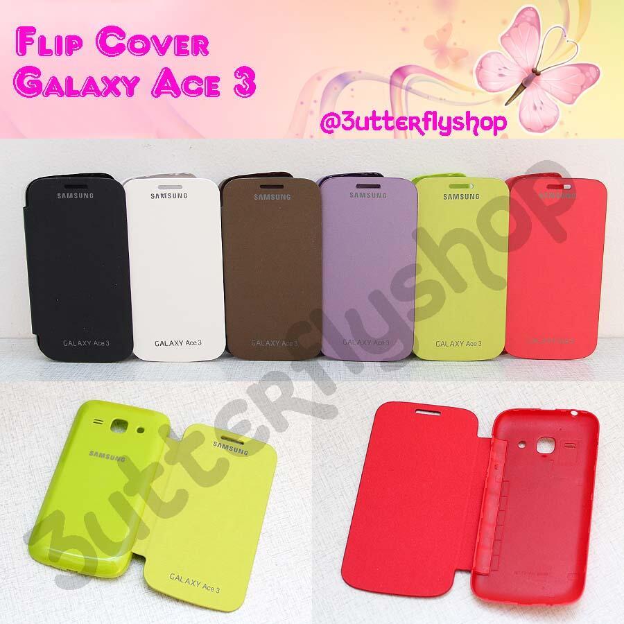 Terjual Terbaru Aksesoris Samsung Galaxy Ace 3 Flipcoverjellycase Kesing Flipcoverjellycaseantigoresleathercase