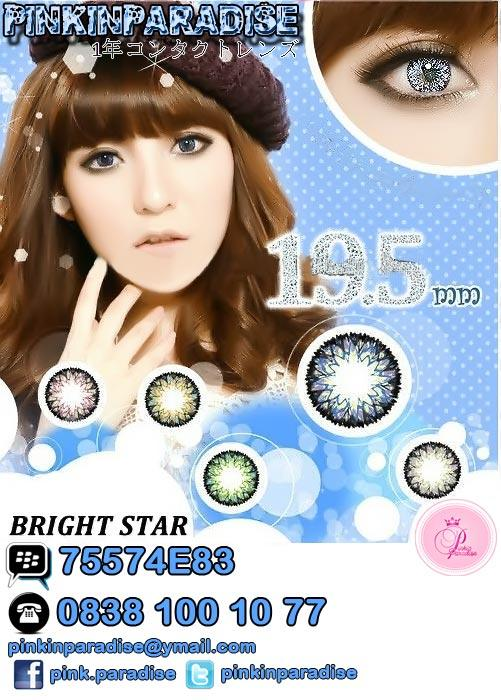 BRIGHT STARS Softlens / Contact Lens / Soft Lens