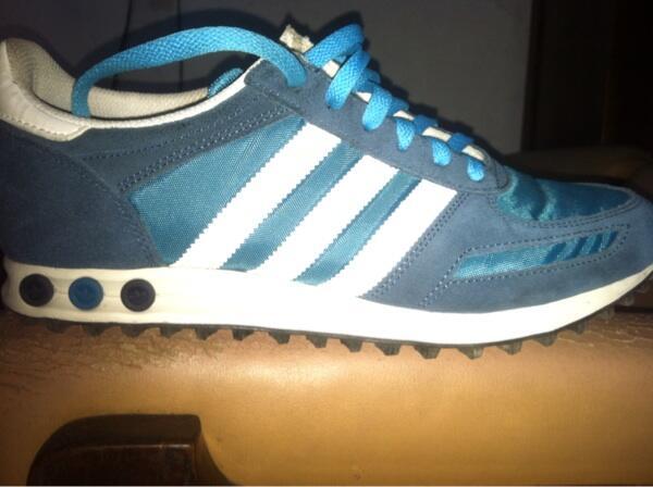 WTS Adidas L.A Trainer (blue) 100% Original