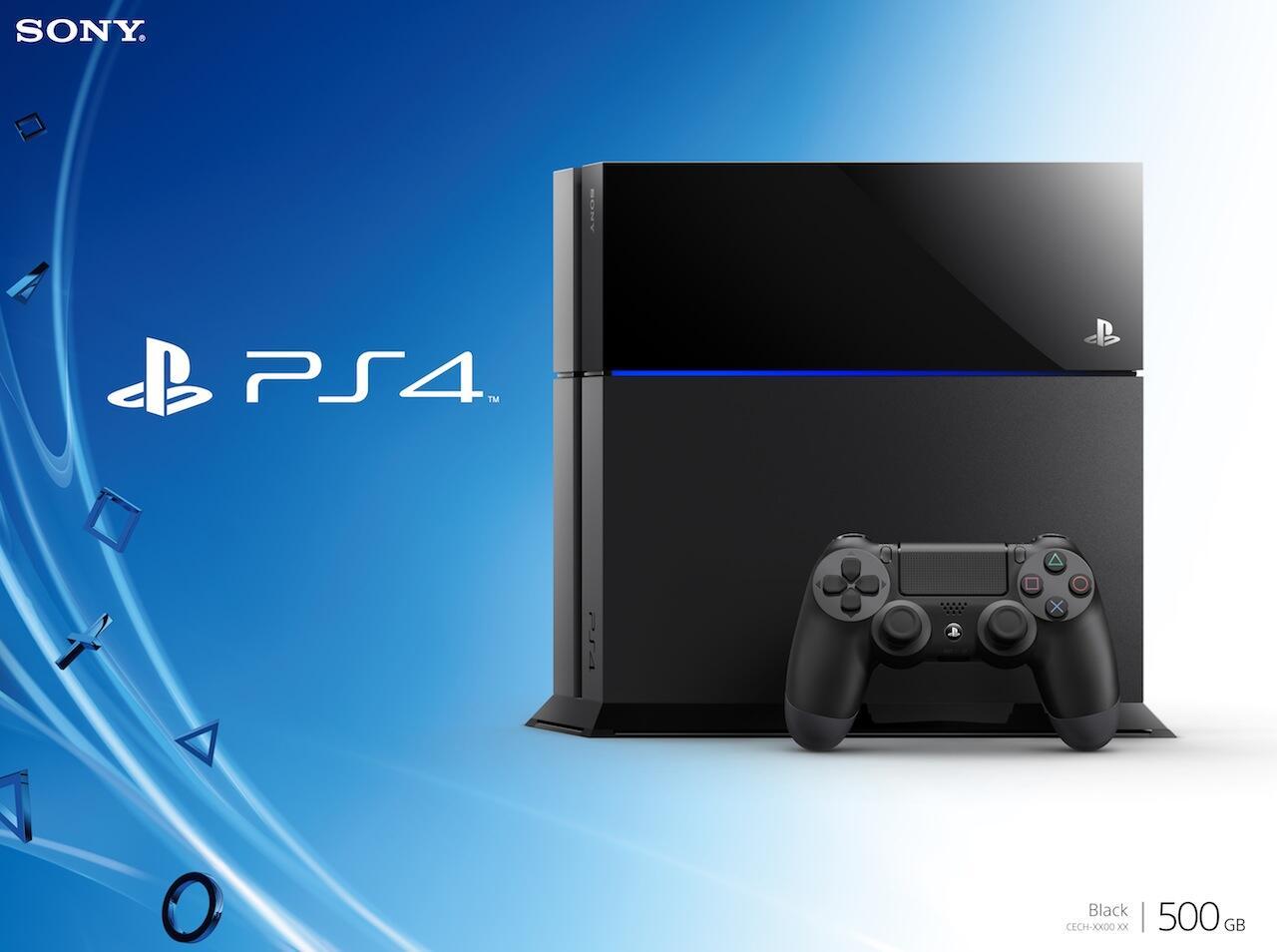 PlayStation 4 USA 500GB