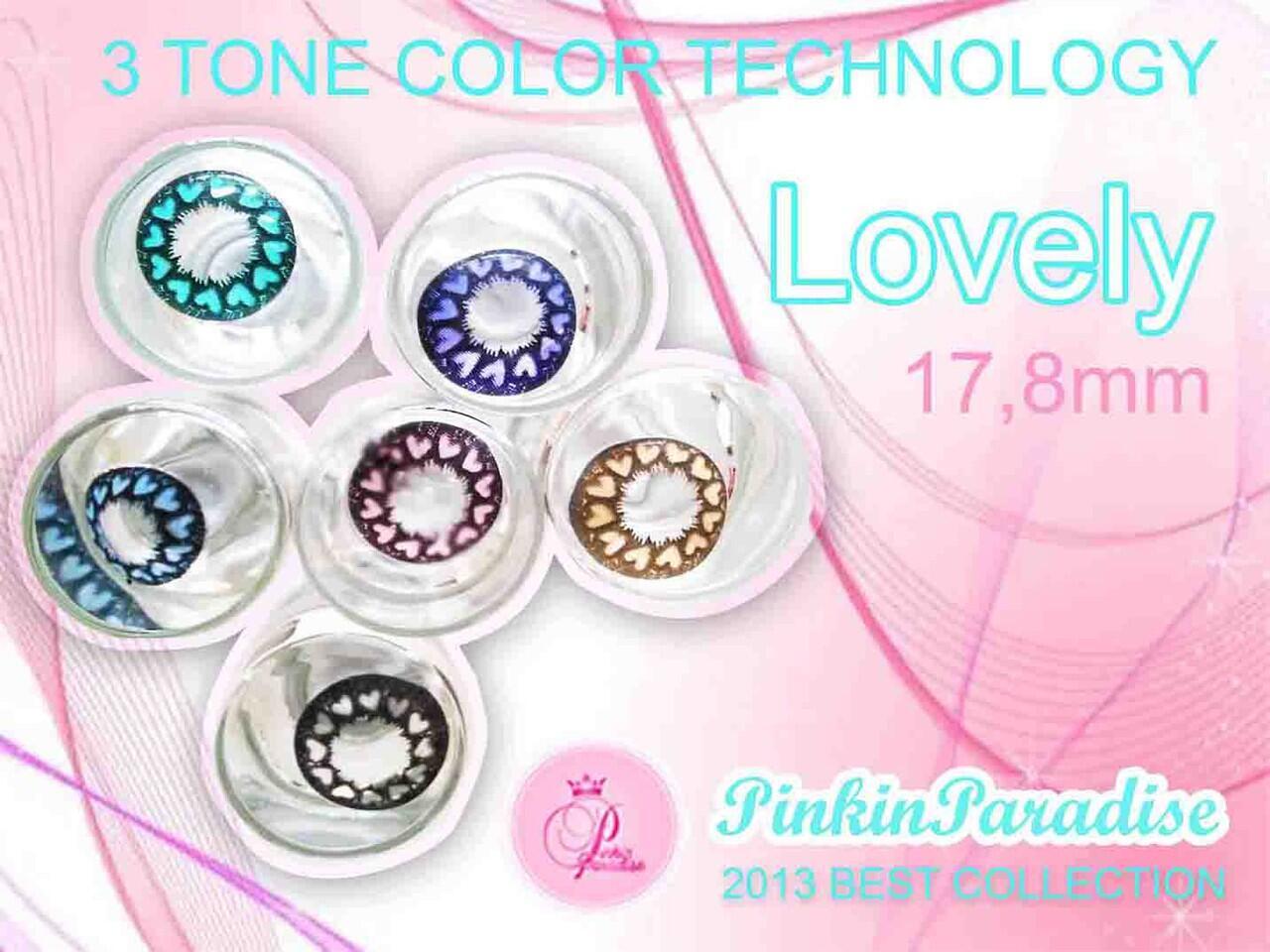 Softlens CANTIK Korea 1 Tahun Pemakaian 8 Warna Pilihan 3 Tone Colour Teknologi